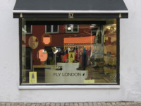 Fly London shop Copenhagen